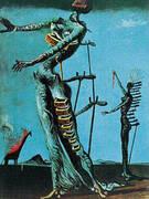 The Burning Giraffe 1937 By Salvador Dali