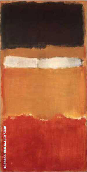 Untitled 1951 55 Painting By Mark Rothko - Reproduction Gallery