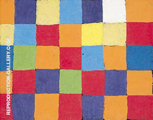 Farbtafel By Paul Klee - Oil Paintings & Art Reproductions - Reproduction Gallery