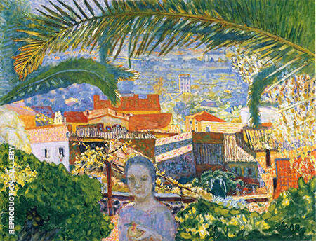 Reproduction of The Palm 1926 by Pierre Bonnard | Oil Painting Replica On CanvasReproduction Gallery