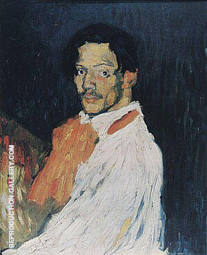 Self - Portrait  'Yo Picasso' By Pablo Picasso - Oil Paintings & Art Reproductions - Reproduction Gallery