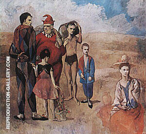 Family of Saltimbanques 1905 By Pablo Picasso - Oil Paintings & Art Reproductions - Reproduction Gallery