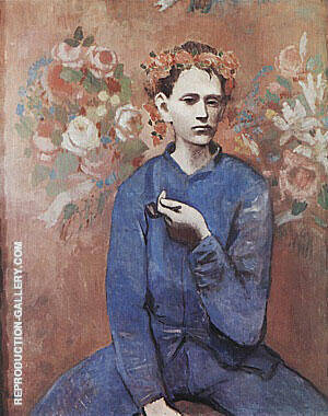 Boy with a Pipe By Pablo Picasso