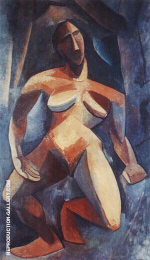 The Dryad 1908 By Pablo Picasso Replica Paintings on Canvas - Reproduction Gallery