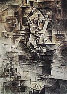 Portrait of Daniel-Henry Kahnweiler 1910 By Pablo Picasso