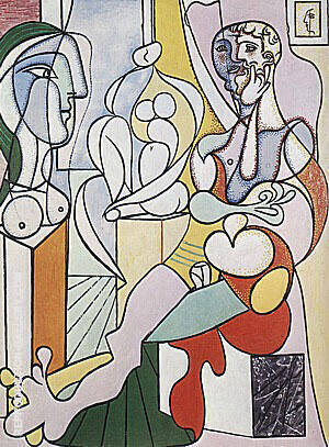 The Sculptor 1931 Painting By Pablo Picasso - Reproduction Gallery