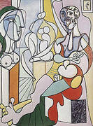 The Sculptor 1931 By Pablo Picasso