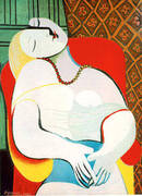 The Dream 1932 By Pablo Picasso