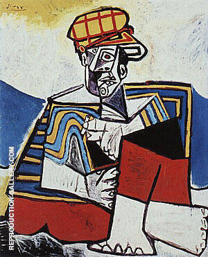 The Smoker  1953 By Pablo Picasso Replica Paintings on Canvas - Reproduction Gallery