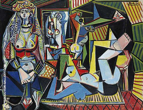 Women of Algiers, after Delacroix 1955 By Pablo Picasso