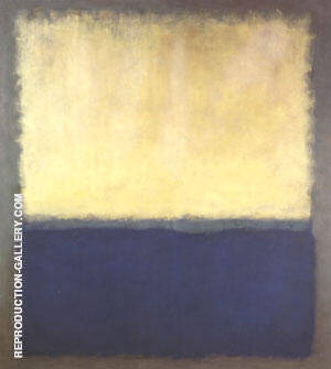 Light Earth and Blue 1954 By Mark Rothko