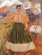 Marxism Will Give Health to the Sick 1954 By Frida Kahlo