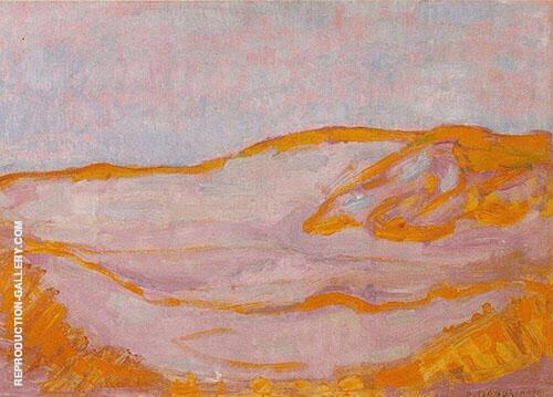 Dune IV c1900 By Piet Mondrian