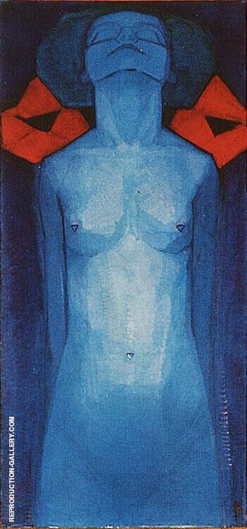 Evolution 1 By Piet Mondrian