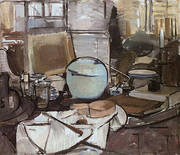 Still Life with Ginger Jar I By Piet Mondrian