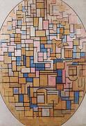 Tableau III, 1914 By Piet Mondrian