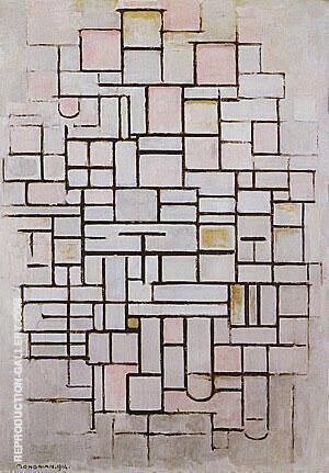 Composition No. 6 1914 By Piet Mondrian