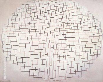 Composition No. 10 Pier and Ocean 1915 By Piet Mondrian