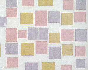 Composition with Colour Planes No.3, 1917 By Piet Mondrian