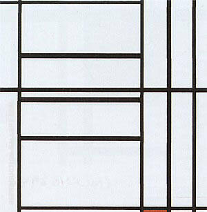 Composition, 1939 Painting By Piet Mondrian - Reproduction Gallery