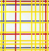 New York City I, 1942 By Piet Mondrian