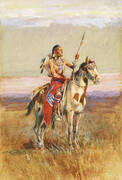 The Scout 1907 2 By Charles M Russell