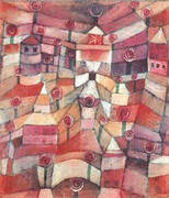 Rose Garden 1920 By Paul Klee