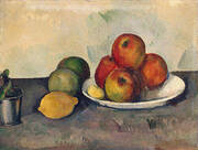 Still Life with Apples 1890 By Paul Cezanne