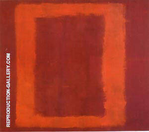 Seagram Sketch 1958 Red on Maroon Painting By Mark Rothko