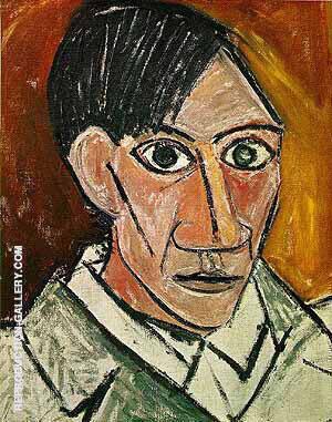 Self-Portrait 1907 By Pablo Picasso