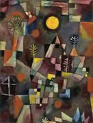Full Moon 1919 By Paul Klee