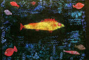 The Golden Fish 1925 By Paul Klee
