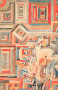 Palace Partially Destroyed By Paul Klee