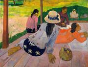 The Siesta Tahiti By Paul Gauguin