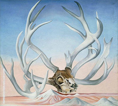 From the Faraway Nearby By Georgia O'Keeffe - Oil Paintings & Art Reproductions - Reproduction Gallery