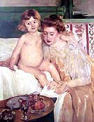 Mother and Child 1901 By Mary Cassatt