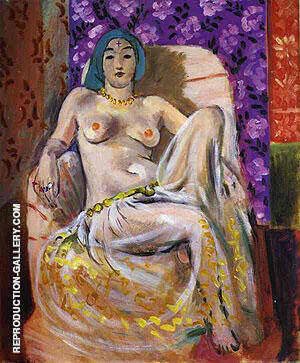 Le Genou Leve 1922 Painting By Henri Matisse - Reproduction Gallery