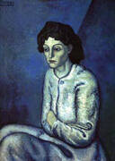 Femmes aux bras croises By Pablo Picasso