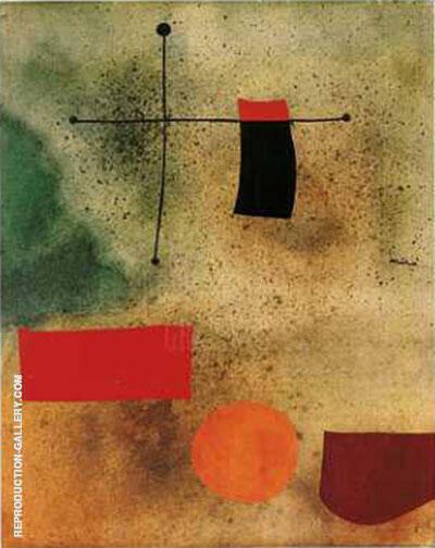 Abstrait By Joan Miro