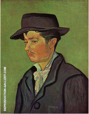 Potrait of Armand Roulin 1888 A Painting By Vincent van Gogh