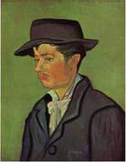 Potrait of Armand Roulin 1888 A By Vincent van Gogh