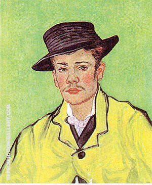 Portrait of Armand Roulin 1888 By Vincent van Gogh