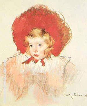 Child with Red Hat By Mary Cassatt - Oil Paintings & Art Reproductions - Reproduction Gallery