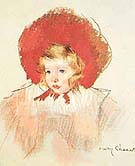 Child with Red Hat By Mary Cassatt