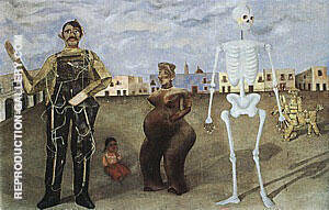 Four Inhabitants of Mexico 1938 Painting By Frida Kahlo