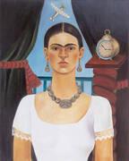 Self Portrait 1925 By Frida Kahlo