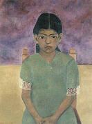 Portrait of Virginia Nina 1929 By Frida Kahlo