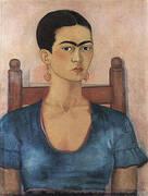 Self Portrait 1930 By Frida Kahlo
