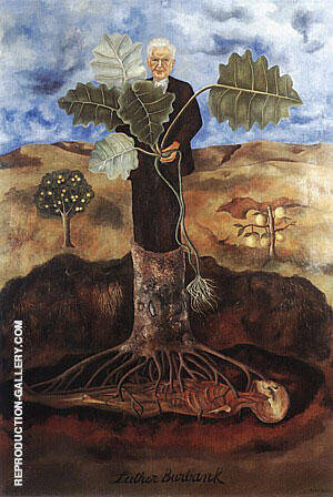 Reproduction of Luther Burbank 1931 by Frida Kahlo | Oil Painting Replica On CanvasReproduction Gallery