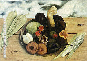 Fruits of the Earth 1938 Painting By Frida Kahlo - Reproduction Gallery